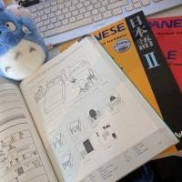 Kirja japanin kielen opiskeluun aloittelijalle: Japanese for Busy People